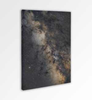 The photographs rich in detail and color show the wonders of the universe not only digitally but also on canvas prints.